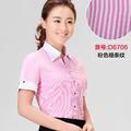 女工装短袖V6706-1